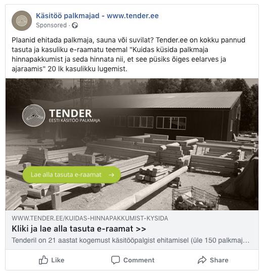 internetiturundus facebooki reklaam Timo Porval +372 5903 1467 Timo@lavii.ee